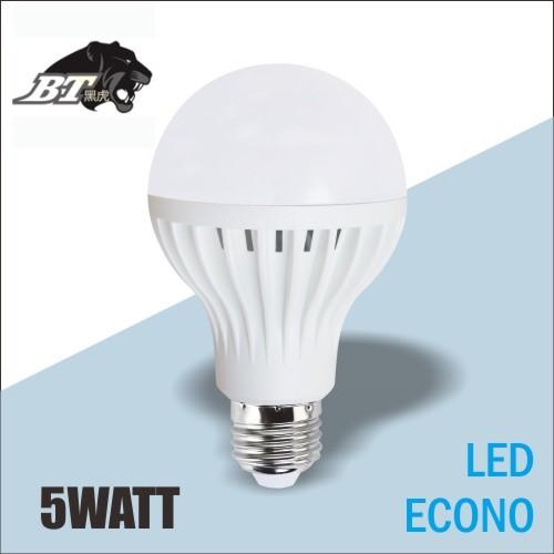 harga Black tiger led white lampu bohlam econo [5 watt/2 pcs] Tokopedia.com