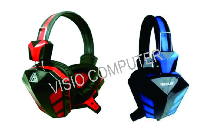 Jual HEADPHONES GAMING REXUS F 22