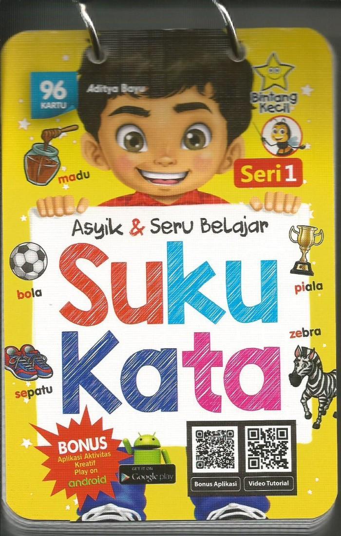 Asyik & Seru Belajar Suku Kata Seri 1