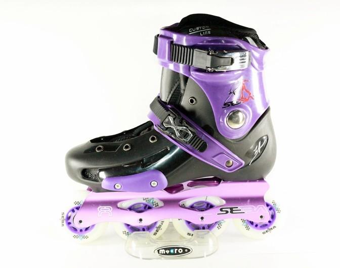 harga Jual sepatu roda   inline skate seba frm ungu Tokopedia.com