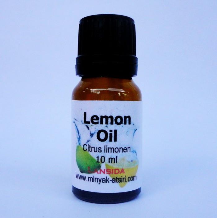 Lemon Essential Oil 10 ml / Citrus limonum / Minyak Jeruk Lemon