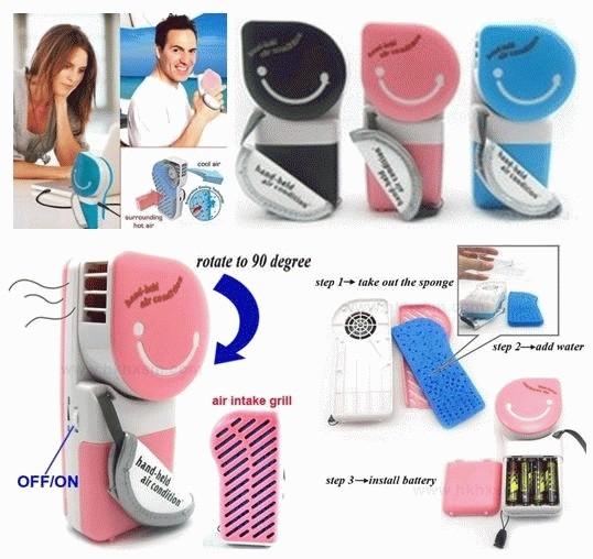 harga Ac genggam / ac mini portable / ac praktis / mini fan usb / kipas lucu Tokopedia.com