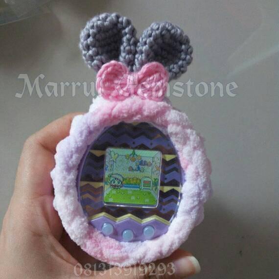 harga Fluffy bunny : tamagotchi case  id idl p's mix 4u and 4u+ Tokopedia.com