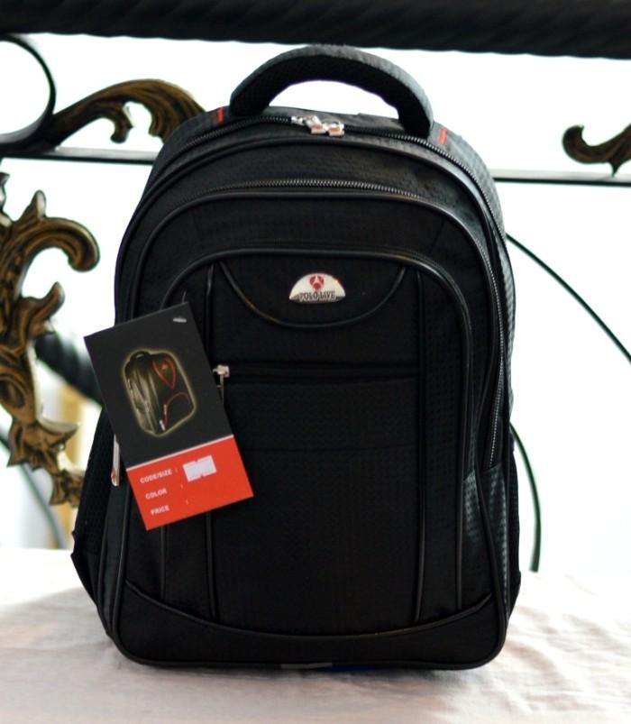 harga Tas ransel laptop 14 inch polo pria import backpack rain cover ori Tokopedia.com