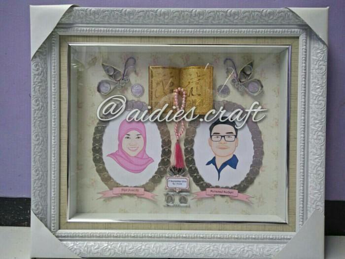 Jual Mahar Pernikahan Uang Kertas Ilustrasi Vektor Siluet Jakarta Timur Aidies Craft Tokopedia