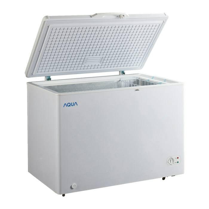 Chest Freezer 300 liter Sanyo / Aqua AQF 310 W