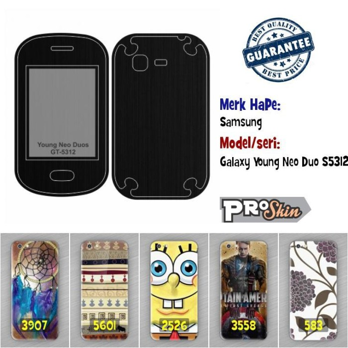 Katalog Hp Samsung Galaxy Young Travelbon.com