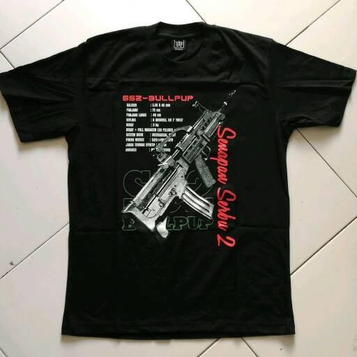 harga Kaos senapan serbu 2 Tokopedia.com