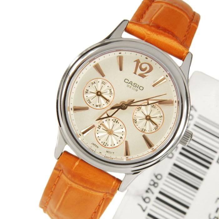 harga Jam tangan casio perempuan kulit coklat ltp2085l-5 ori garansi fashion Tokopedia.com