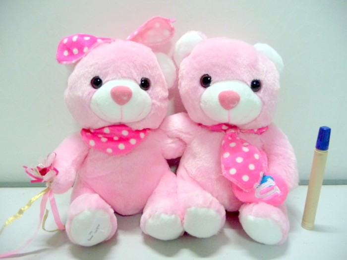 Jual boneka teddy bear couple pink  64b6b84734