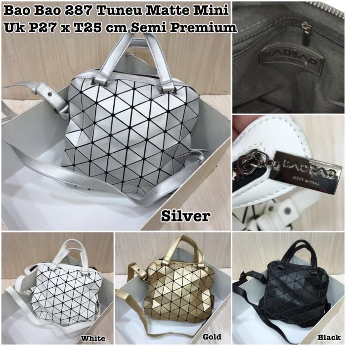 Jual Tas Baobao Tonneau Boston Bag Matte Small Semi Premium - DKI ... a952704d1f61f