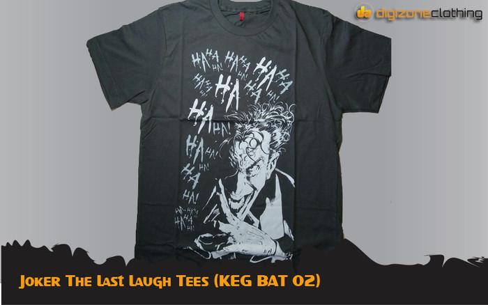 Foto Produk Joker The Last Laugh Tees (KEG BAT 02) dari Digizone Hobbies Shop