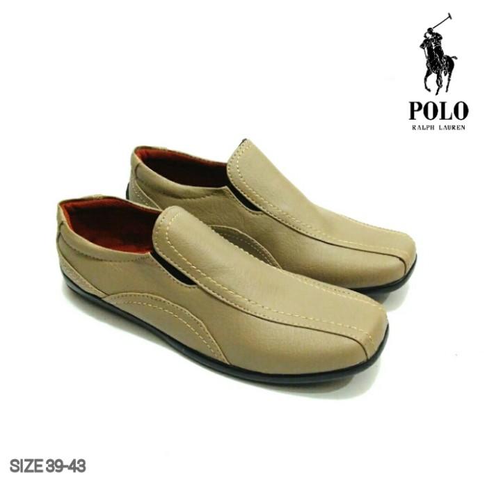 Jual Sepatu Pantofel POLO Pria Semi Kulit Murah   Sepatu POLO ... 8147de94bd