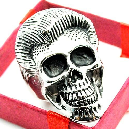 harga Cincin titanium biker rings mans jewelry skull ring pomade cincin pria Tokopedia.com