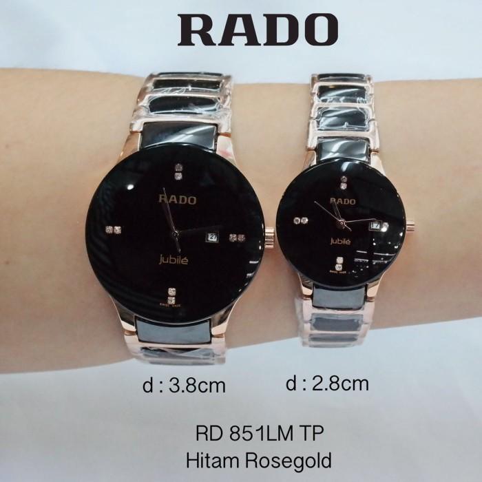 Jual jam tangan Rado keramik - bogorolshop  898f1e766e