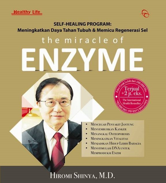harga The miracle of enzyme - hiromi shinya Tokopedia.com