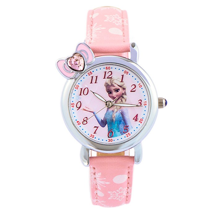 Disney Princess Frozen Jam Tangan Anak Putih Leather Strap Fz5460 W Source Disney .