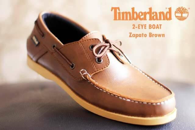 Jual sepatu casual pria timberland zapato brown - sepatu bdg  6564810728
