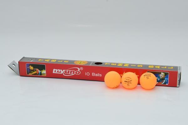 Jual Bola Tenis Meja Isi 10 Myuno Baru | Bola Pingpong / Tenis Meja