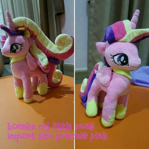 Jual Boneka my little pony MLP kuda poni lucu - impor - Alya Stuff ... a054794f60