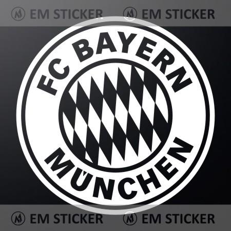 Jual Stiker Logo Bayern Munchen Cutting Sticker Kab Sidoarjo