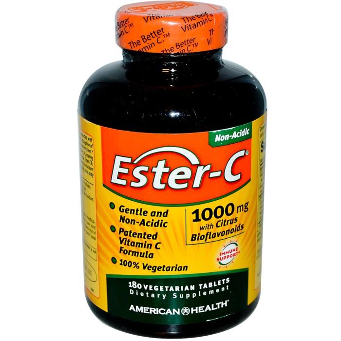 Foto Produk American Health Ester C 1000 mg 180 tablets dari Healthy Groceries