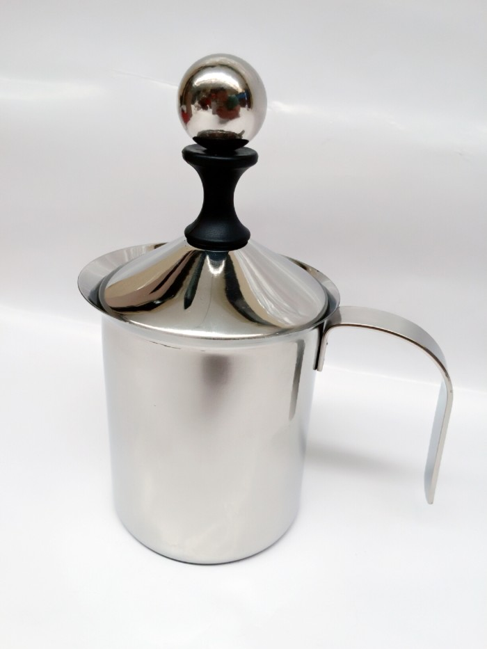 harga Subron stainless french press/tea & coffee plunger milk frother 400ml Tokopedia.com