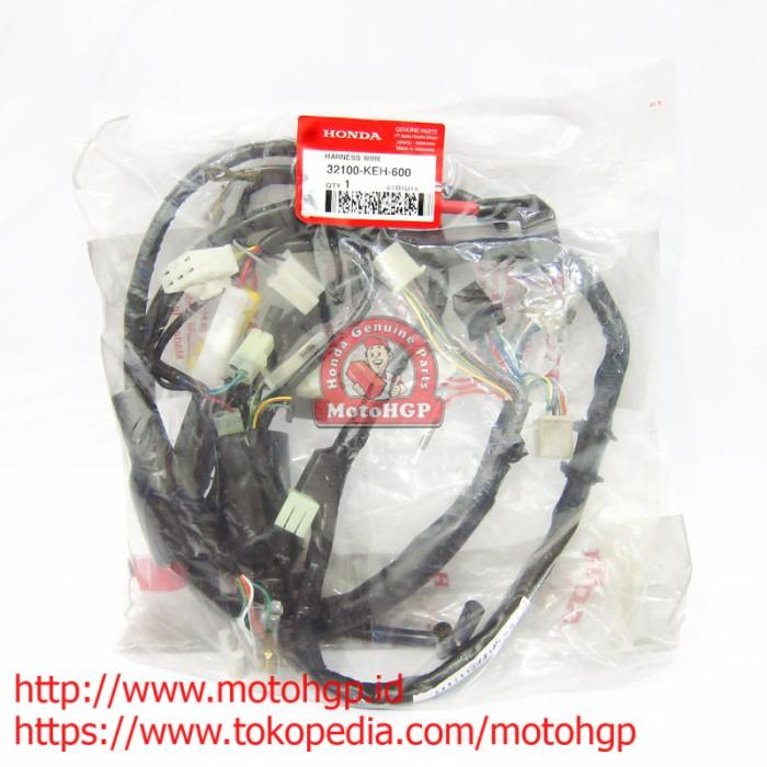 Rangkaian Kabel Body Megapro