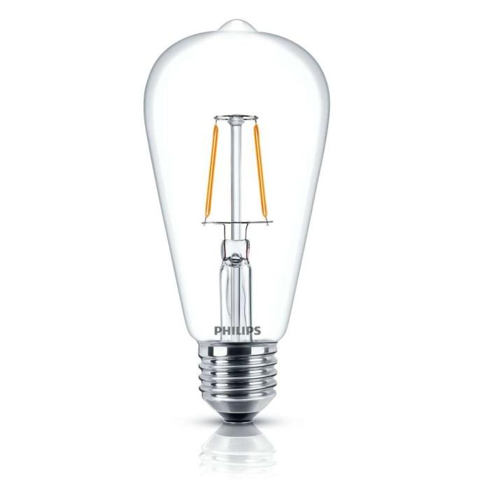 PHILIPS LED Classic 4W E27 ST64 Warm White - Decorative LED