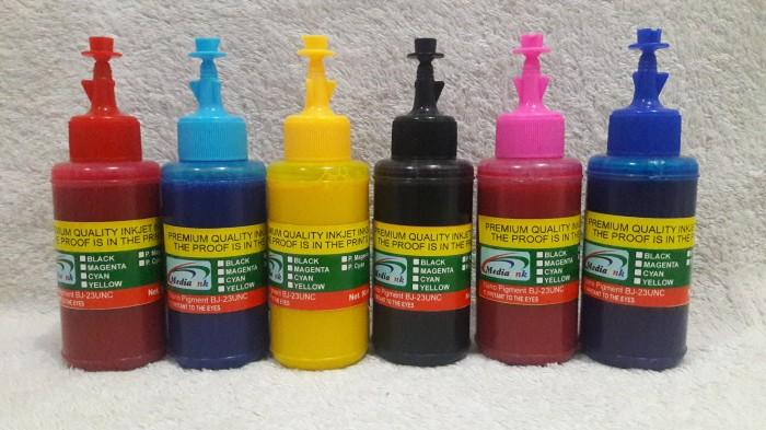 harga Tinta nano pigment mediaink bj-023 untuk epson l series Tokopedia.com
