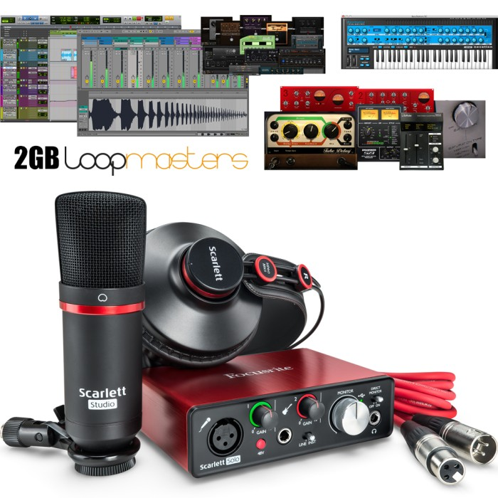harga Focusrite scarlett solo studio - second generation Tokopedia.com