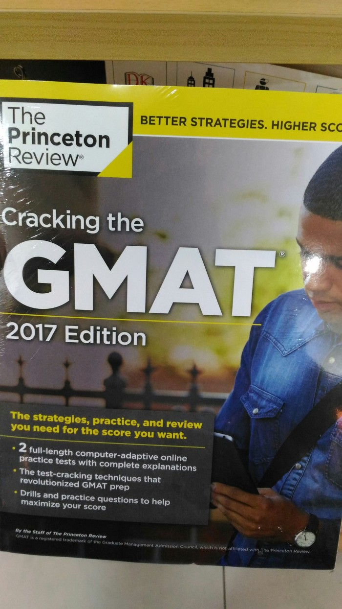 harga Cracking gmat 2017 edition Tokopedia.com