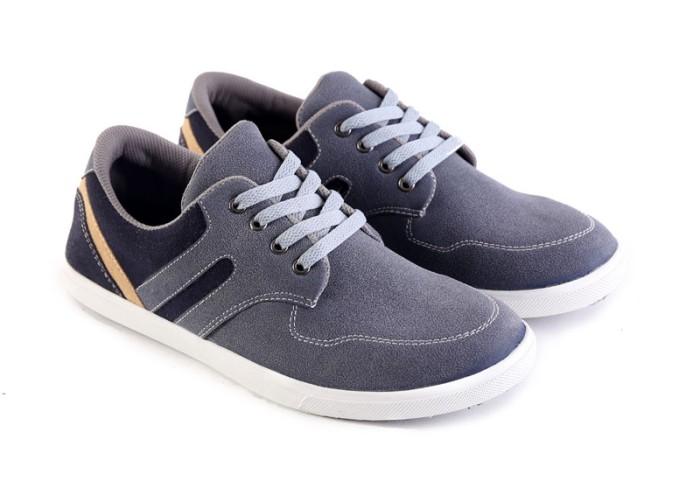 Jual Sepatu Casual Pria Sepatu Cowok Sepatu Garsel Terbaru L 073