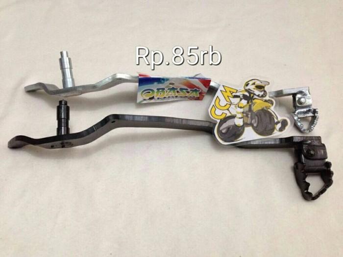 harga Pedal rem lipat  silver dan hitam Tokopedia.com