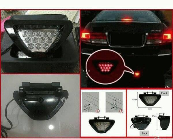 stop lamp f1 / lampu rem segitiga f1 / brake lamp f1