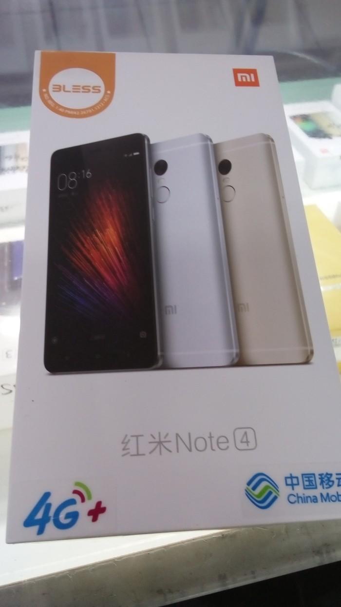 Jual Xiaomi Redmi Note 4 Smartphone Emas 64 Gb 3 Update 2018 5a  Garansi Resmi Tam Ram 3gb Intetnal 64gb Metta Cell Bekasi