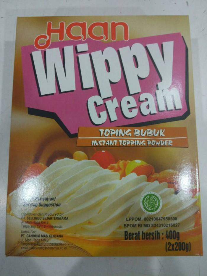 Foto Produk wippy cream / whipping / whipped cream HAAN 400 gram BUBUK dari Sinar Terang Regency