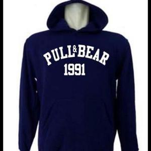 Hoodie Sweater Jumper Pull & Bear 1991