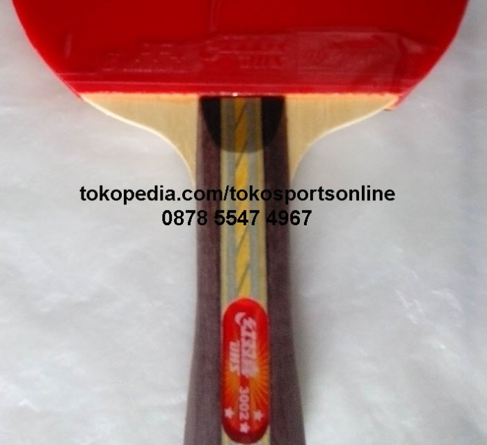 Bat Bet Ping Pong Tenis Meja DHS Double Happiness 3002