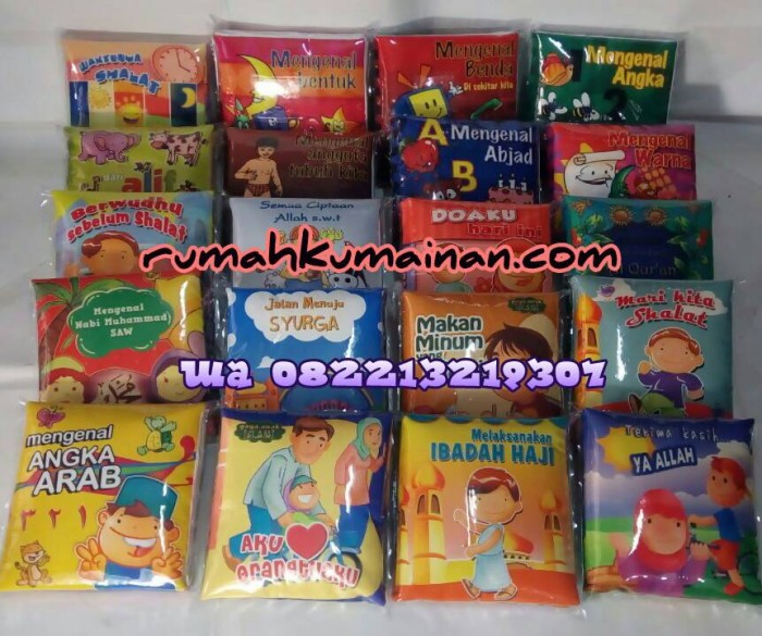 Foto Produk Softbook / Buku Bantal Murah dari Retno|BukuBantalEdukasi