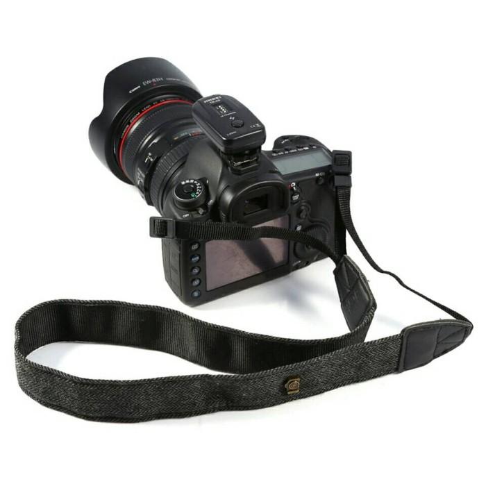 Foto Produk Strap Kamera Kanvas bahan kuat dan lembut warna GREY dari Gerai Digital