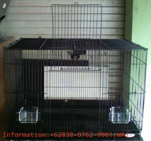 harga Kandang besi lipat besar flow u/ kucing/kelinci/burung/lainnya (hitam) Tokopedia.com