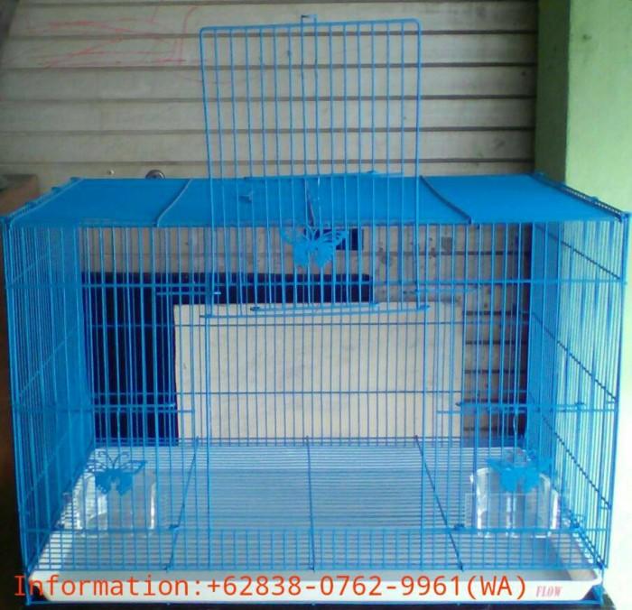 harga Kandang Besi Lipat Besar Flow U/ Kucing/kelinci/burung/lainnya (biru) Tokopedia.com