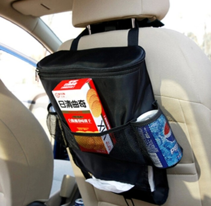 Holder Travel Storage cooling Hanging Bag - Black + Pencukur Alis Set.