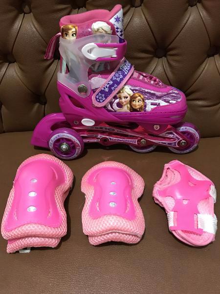 Sepatu Roda Terbaru Sepatu Roda Inline Skate Bajaj Karakter Frozen Rod 8ea22d6be2