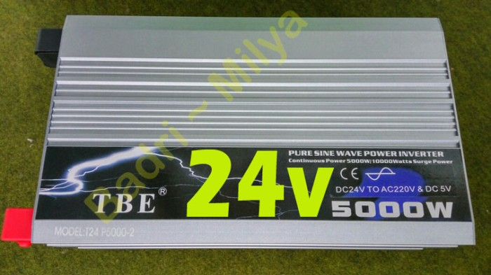 harga 24v 5000w Inverter Tbe Pure Sine Wave Tokopedia.com