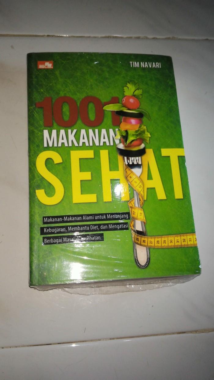 harga 1001 makanan sehat makanan alami untuk menunjang kebugaran diet Tokopedia.com