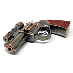 Foto Produk unik Gun Windproof Lighter Laser Korek Api Model Bentuk Desi terbaru S dari toko santy