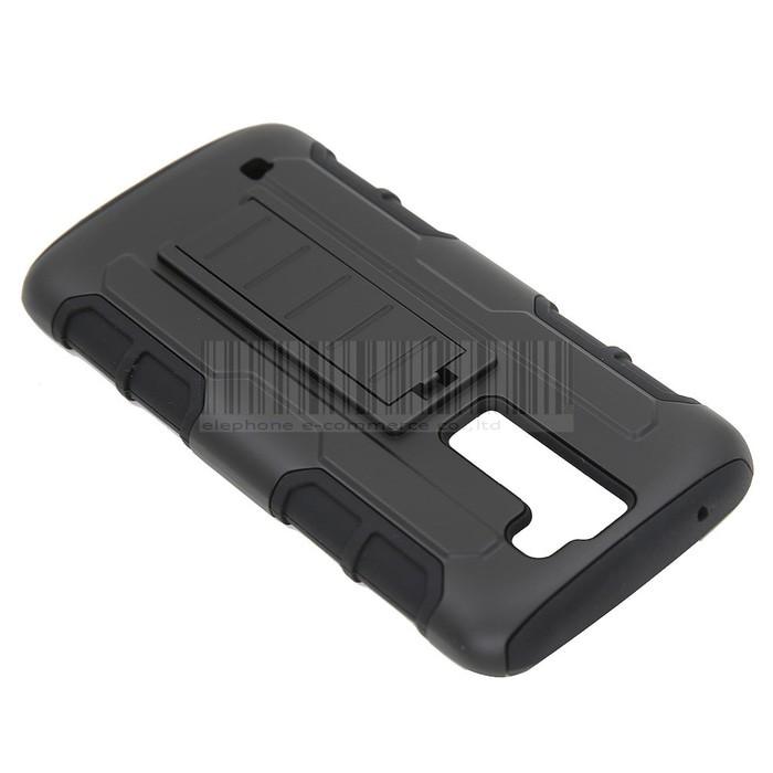 LG K7 Future Armor Case stand Holster casing cover bumper keren bagus