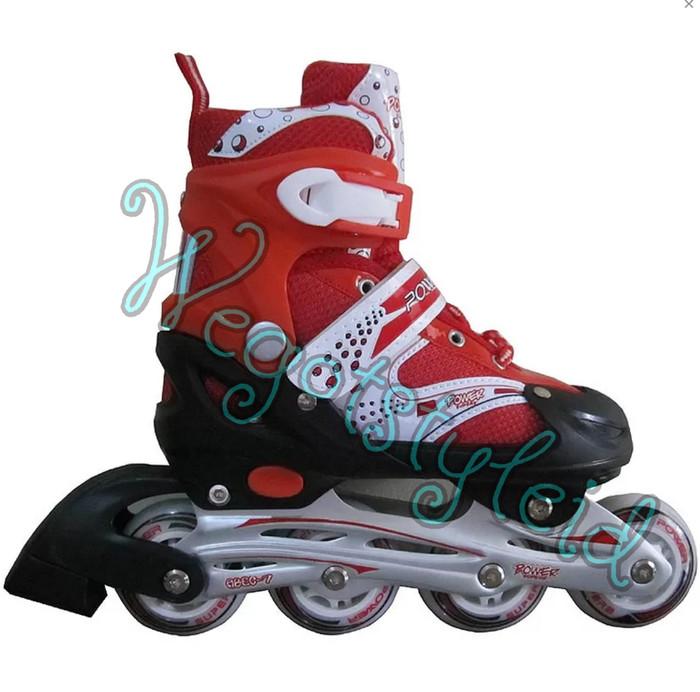 Jual Sepatu Roda Anak   Dewasa Inline Skate Warna Original Power ... b2ff6155b7